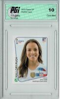 Mallory Pugh 2019 Panini #417 World Cup Rookie Card PGI 10