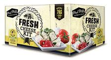 Fresh Cheese Ingredient Kit Homemade Feta, Halloumi, Cottage Cheese, Cream Chees
