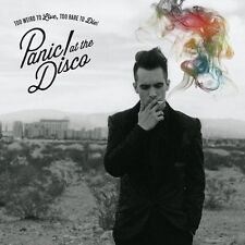 PANIC! AT THE DISCO - TOO WEIRD TO LIVE, TOO RARE TO DIE: CD ALBUM (2013)