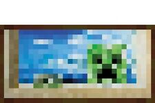 "MINECRAFT POSTER ""WINDOW"" LICENSED ""BRAND NEW"" CREEPER"