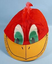 1958 Woody Woodpecker Official Club Cap Kellogg's Cereal Premium Walter Lantz