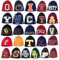New Era College Big One Knit Beanie Winter Cap Hat NCAA
