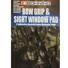 "Bohning Moleskin Bow Grip & Sight Window Camo 4""x6"" Adhesive Pad 2 Pack #01602"