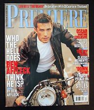 BEN AFFLECK interview 2000 Oscars LEONARDO DiCAPRIO LEO Forest Whitaker