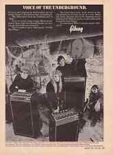 1969 GIBSON SPEAKER  ~  RARE VINTAGE ORIGINAL AD