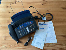 More details for brother fax-t76 machine with instruction manual