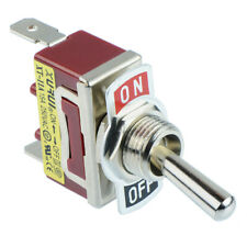 5 X On-off SPST Toggle Switch 250v AC 15a