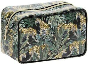 Jungle Fever Toiletries Bag Make Up Cosmetics Travel Ladies Wash Mum Auntie Nan