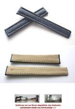 - ECHT HAIFISCH Faltschließenband kompatibel mit Breitlingfaltschließe 15-14 mm