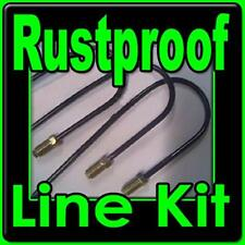 Chevy and GMC truck brake line kit for 1967 to 1997  Coated Rustproof Lines
