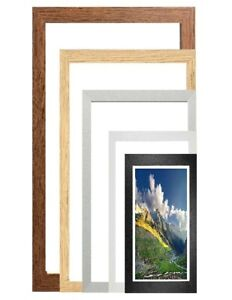 Poster Frame Panoramic Wood Frame Acrylic Glass Picture Frame Photo Frames