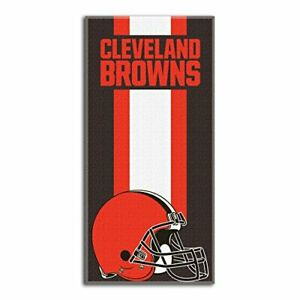 """The Northwest Company Cleveland Browns Beach Towel 30"""" x 60"""" NEW!!"""