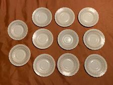 Lot Of 11 - VINTAGE Metlox Vernon Ware Fruit Basket Pattern Saucer 🔥