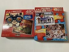 PUZZLE SUPER VALUE 2 IN 1 PUZZLE BOXES  - 960 PIECES CRA-Z- ART