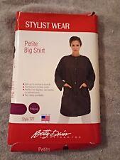Betty Dain Petite Big Shirt, Burgundy
