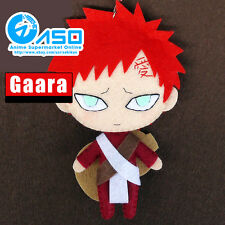 Anime Naruto Gaara Cute DIY Toy Handmade Keychain Bag Hanging Plush Doll Gift