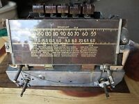 Crosley Radio Corp Model 7739 M Tube Radio Chassis Parts Repair Restore