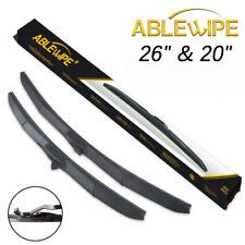 ABLEWIPE Fit For TOYOTA HIGHLANDER 2008-2018 Windshield Wiper Blades (Set of 2)
