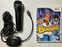 Boogie (Nintendo Wii, 2007), Including Microphone