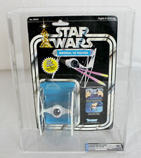 Vintage Star Wars Carded Vehicle Die Cast Imperial TIE Fighter DCA 80 NM #358496