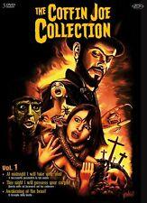 COFFIN JOE COLLECTION BOX  9 DVD  COFANETTO  FANTASTICO