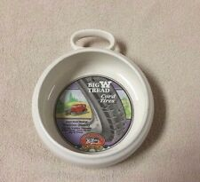 WATKINS Collectible Soup Bowl 1992 HERITAGE COLLECTION Big W Tread Cord Tires