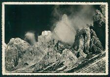 Belluno Comelico Superiore Gruppo Popera Croda Rossa Foto FG cartolina VK3033