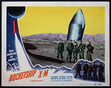 ROCKETSHIP X-M EARLY SPACE AGE SCIENCE FICTION 1950 LOBBY CARD #2