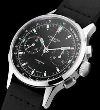 Strela Automatic Chronograph 40mm CO40CYB-A Saphir