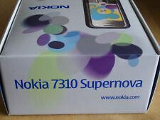 *New* Open Box NOKIA 7310 SUPERNOVA Mobile Phone Blue + Pink