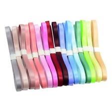 Set de 16pcs Ruban en Polyester Décor de Mariage Fête Scrapbook Bricolage
