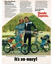 1979 Honda EXPRESS Mini-Bike Motor Scooter Vtg Print Ad