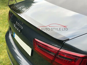 Rear boot trunk wing spoiler for Audi A6 C7 saloon 2011-2018 UNPAINTED