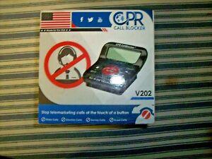 CPR Phone Call Blocker V202 Stop Telemarketing Telemarketers Robo Calls!