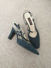 LADIES NAVY SLING BACK SHOES - NEXT ' SIZE 4