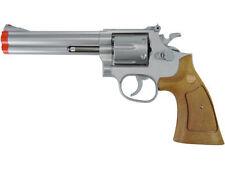 "TSD UHC 934SW 934 UA934SW .357 REVOLVER 6"" Spring Airsoft Pistol Silver Wood"