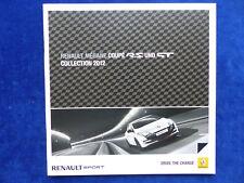Renault Megane Coupe RS GT 265 PS Cup-Paket - Prospekt Brochure 03.2012