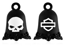 Harley-Davidson® Willie G Skull Bar & Shield Black Motorcycle Ride Bell HRB055