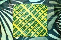 Billie Eilish Official Green Repeating Bandana Australian Tour with Free Gift