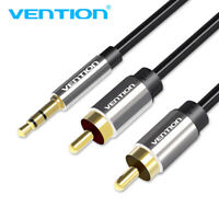 VENTION RCA Cable 3.5mm to 2RCA Male to Male Stereo Audio Y Splitter Adapter