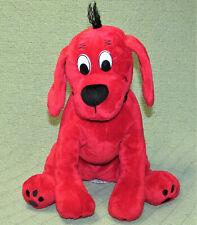 "SCHOLASTIC CLIFFORD BIG RED DOG STUFFED ANIMAL 10"" SITTING PLUSH DOUGLAS TOYS"