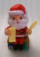 New Sealed Solar Powered Santa Claus Checking His List Holiday Decoration/Toy