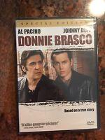 Donnie Brasco (DVD, 2000, Special Collectors Edition) Al Pacino, Johnny Depp
