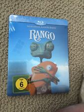 Rango Blu Ray Limited Steelbook, Region Free