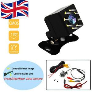 8 LED 170° Camera Reversing Parking Cam Car Rear View Night Vision Waterproof