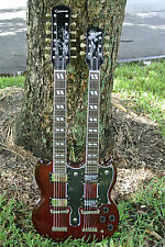 EPIPHONE SG DOUBLE NECK with CASE!!!  LOT #N83