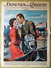 La Domenica del Corriere 22 Marzo 1959 Iraq Renato Carosone Nordahl Francavilla