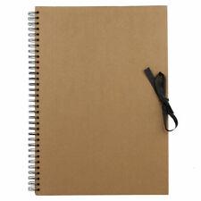 Seawhite Kraft Marrone Carta Libro Schizzo, Display Scrapbook Anello Rilegata A5