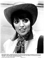 Liza Minnelli in stetson original portrait photo Arthur 1981