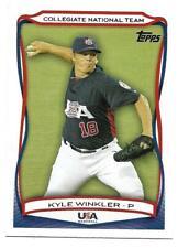 2010 Topps USA Collegiate National Team Kyle Winkler #USA-42